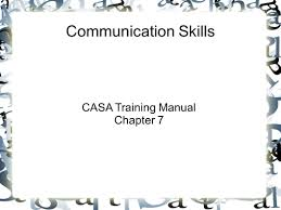 casa training manual chapter 7 ppt download