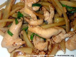cuisiner les chouchous poulet sauté au chouchou par christian antou goutanou cuisine de l
