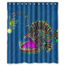 Fish Curtains Fish Shower Curtains Shower Curtains Outlet