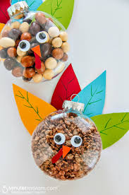 turkey treats for thanksgiving easy fall craft