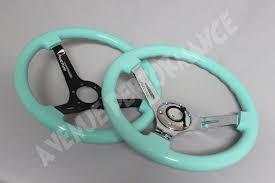avenue steering wheel minty green tiffany blue