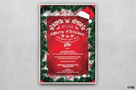 christmas invitations templates christmas invitation template psd v 6