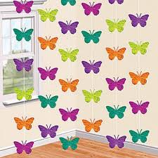 ceiling hanging decoration butterfly strings
