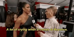 E Red Carpet Grammys Red Carpet A Lot Of Crying When It Comes To Beyonce Gif By E