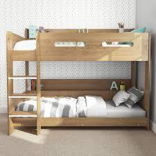 Ebay Bunk Beds Uk Modern Oak Bunk Bed Storage Shelves 5060388566913 Ebay