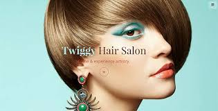 twiggy hairstyle twiggy hair salon one page theme html bootstrap template