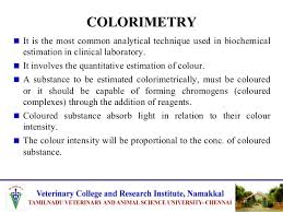 Applications Of Colorimetry In Analytical Chemistry Application Of Colorimetry In Trace Mineral Analysis