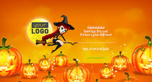 halloween gift card halloween card witch by keiow codecanyon