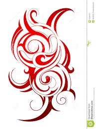 download tato batik tribal tattoo stock vector illustration of abstract 15446147