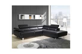 canapé design d angle canapé design d angle studio cuir pu noir canapés d angle