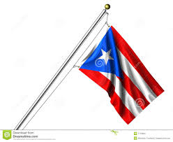 Puerto Rico Flag Isolated Puerto Rican Flag Stock Illustration Image Of Rican