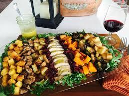 salad with chardonnay vinaigrette