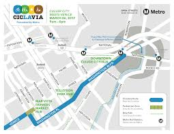 Metro Redline Map Ciclavia Culver City Meets Venice Presented By Metro