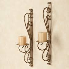 Candle Wall 51 Wrought Iron Candle Sconces Iron Wall Sconces Wall Sconces
