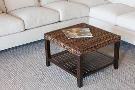 the seagrass coffee table and its unique design for modern people