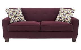 Armchair Pillow For Bed Danielle Eggplant Sofa Living Room Pinterest Eggplants