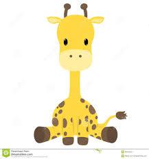 giraffe baby shower clipart