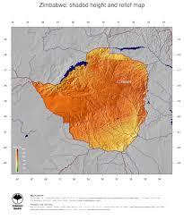 Zimbabwe Map Map Zimbabwe Ginkgomaps Continent Africa Region Zimbabwe