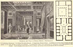 roman floor plan ancient roman villa floor plan student handouts