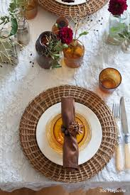 Thanksgiving Table Setting by Thanksgiving Table Setting U2013 30s Magazine