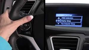 honda crv tire pressure monitoring system calibrating an indirect tire pressure monitoring system vehicles