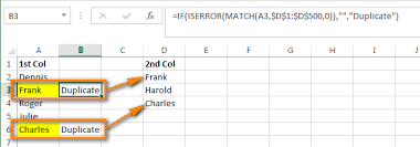 excel compare two tables find only matching data compare two columns and remove duplicates in excel