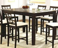 contemporary counter height table high dining table set contemporary counter height dining sets tables