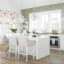 Kitchen Decorating Ideas Themes Trends Color Kitchen Cabinets Inspiration In White Polished Wood