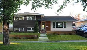split level entry side split house plans with garage