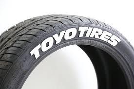 amazon com toyo tires proxes permanent tire lettering kit