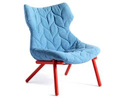 Turquoise Chair Foliage Lounge Chair Hivemodern Com