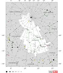 Sky Maps Cepheus Constellation Facts Myth Star Map Major Stars Deep