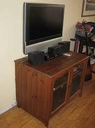 Wall Tv Stands Corner Closet Tv Stand