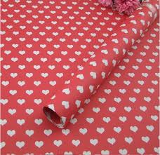 cheapest place to buy wrapping paper gift wrapping paper 5sheets lot 60g fancy design heart shaped 52
