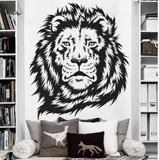 compare prices on lions jungle online shopping buy low price wall stickers for kids room zoo african animal jungle lion king wall decal art decor sticker