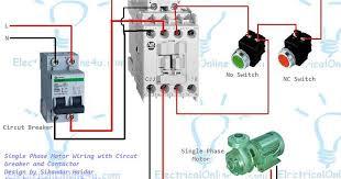 wiring a contactor wiring diagrams schematics