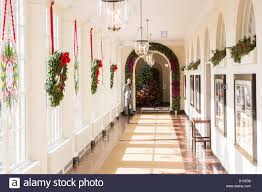 the 2012 white house decorations booksellers hallway