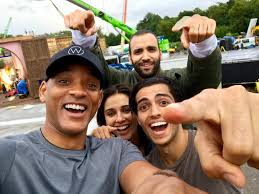 aladdin aladdin will smith shares first cast photo sultan reportedly
