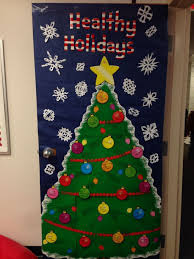 christmas office door decoration home decorations