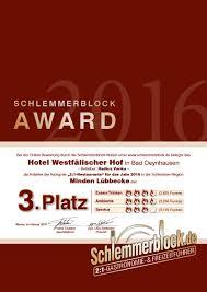 Hotels Bad Oeynhausen Hotel Westfälischer Hof Minden Lübbecke 2018 Schlemmerblock De