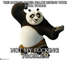 Inner Peace Meme - yolo kungfu panda meme on memegen