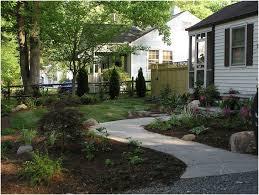 Beautiful Front Yard Landscaping - backyards beautiful fresh front yard landscaping brick designs
