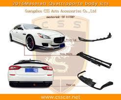 leap design leap design small body kit for maserati quattroporte carbon fiber