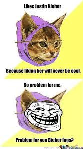 Hipster Kitty Meme - hipster kitty be trolling w by vintagetophat meme center