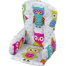 coussin chaise haute bebe coussin de chaise pvc de geuther au meilleur prix sur allobébé