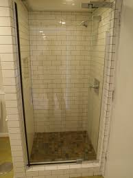 bathroom interior bathroom clear glass block as divider walk in