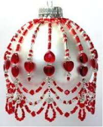 bead ornament cover patterns by picture beaded
