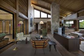 mountain homes interiors mountain house by david guerra architecture and interior