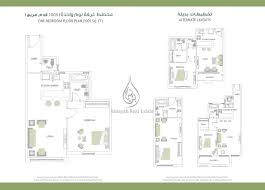 floor plan canal residence west studio apartment