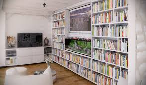 Living Room Design Library Rip3d Industrial Loft Entertainment Area Library With